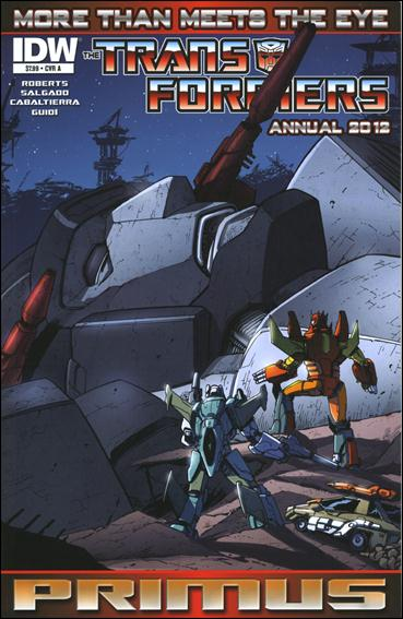 Transformers: More Than Meets the Eye Annual 2012-A by IDW