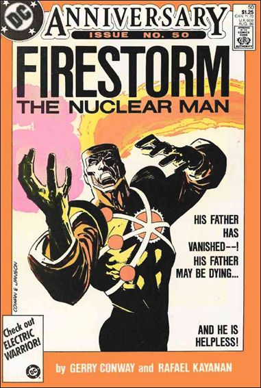 Fury of Firestorm 50-A by DC