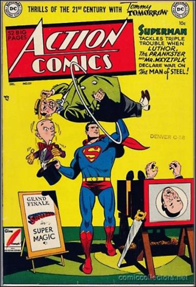 Action Comics (1938) 151-A by DC