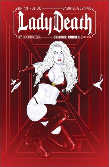 Lady Death Origins: Cursed 3-D by Boundless Comics
