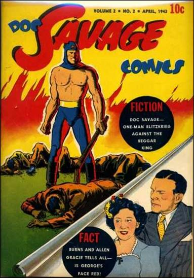 Doc Savage Comics (1943) 2-A by Street and Smith Publications