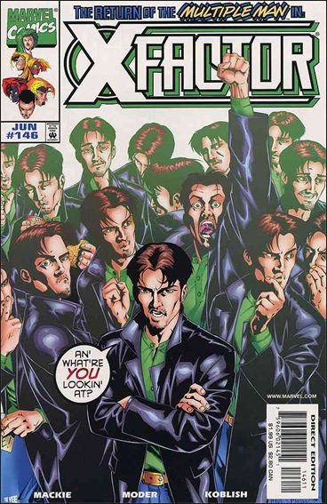 X-Factor (1986) 146-A by Marvel