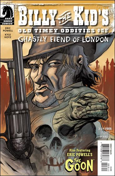 Billy the Kid's Old Timey Oddities and the Ghastly Fiend of London 3-A by Dark Horse