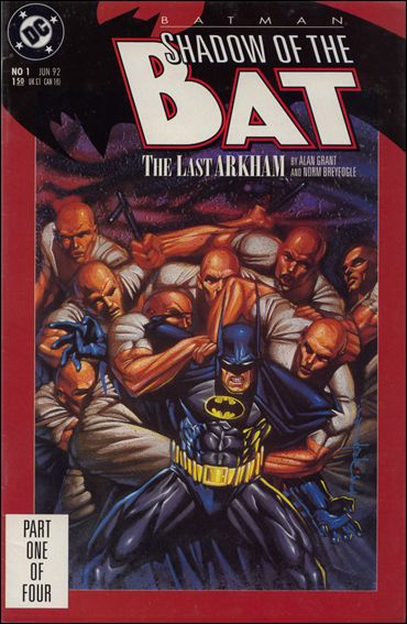 Batman: Shadow of the Bat 1-A by DC