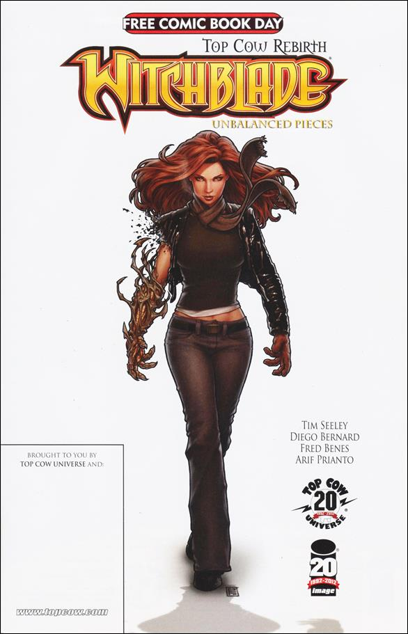 Witchblade: Unbalanced Pieces FCBD Edition nn-A by Top Cow