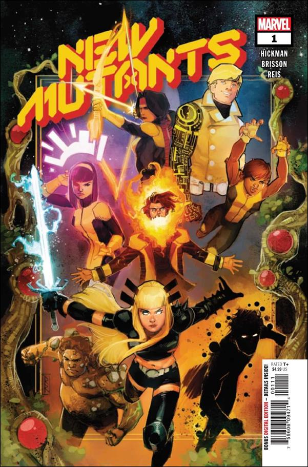 New Mutants (2020) 1-A by Marvel