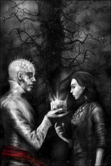 Clive Barker's Hellraiser The Road Below 4-C by Boom! Studios