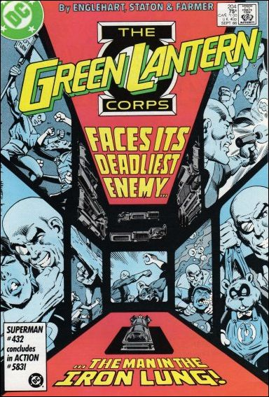 Green Lantern Corps (1986) 204-A by DC