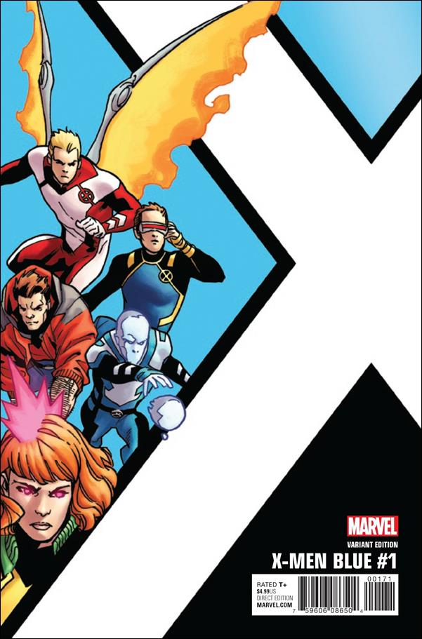 X-Men: Blue 1-E by Marvel