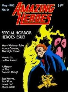 Amazing Heroes 11-A by Fantagraphics