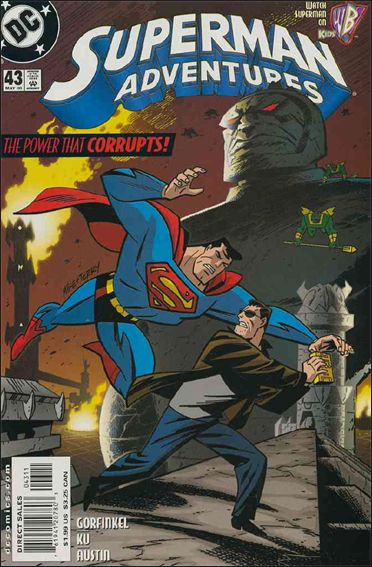 Superman Adventures 43-A by DC