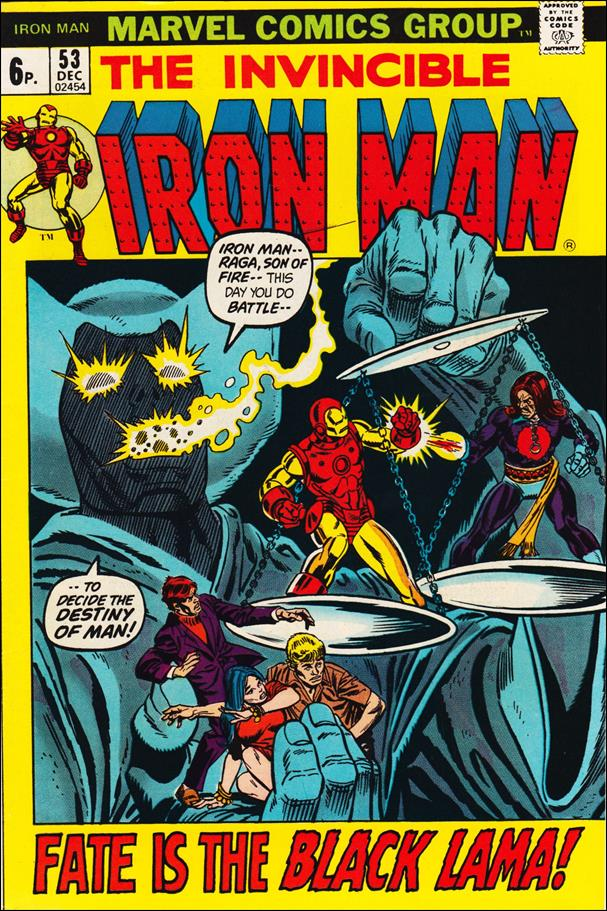 Iron Man (1968) 53-B by Marvel