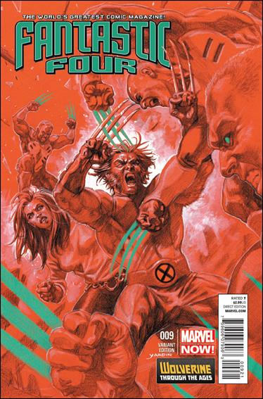 Fantastic Four (2013) 9-B by Marvel