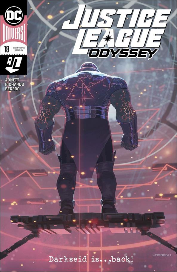 Justice League Odyssey 18-A by DC