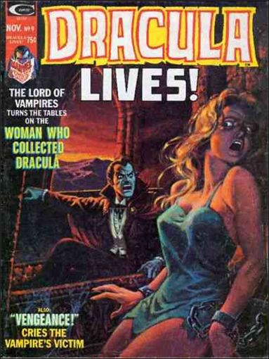 Dracula Lives 9-A by Marvel