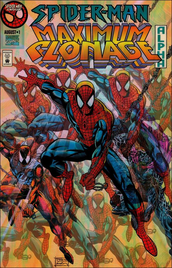 Spider-Man: Maximum Clonage Alpha 1-A by Marvel