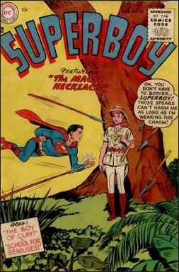 Superboy (1949) 40-A by DC