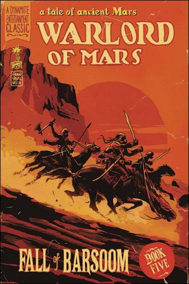 Warlord of Mars: Fall of Barsoom 5-B by Dynamite Entertainment
