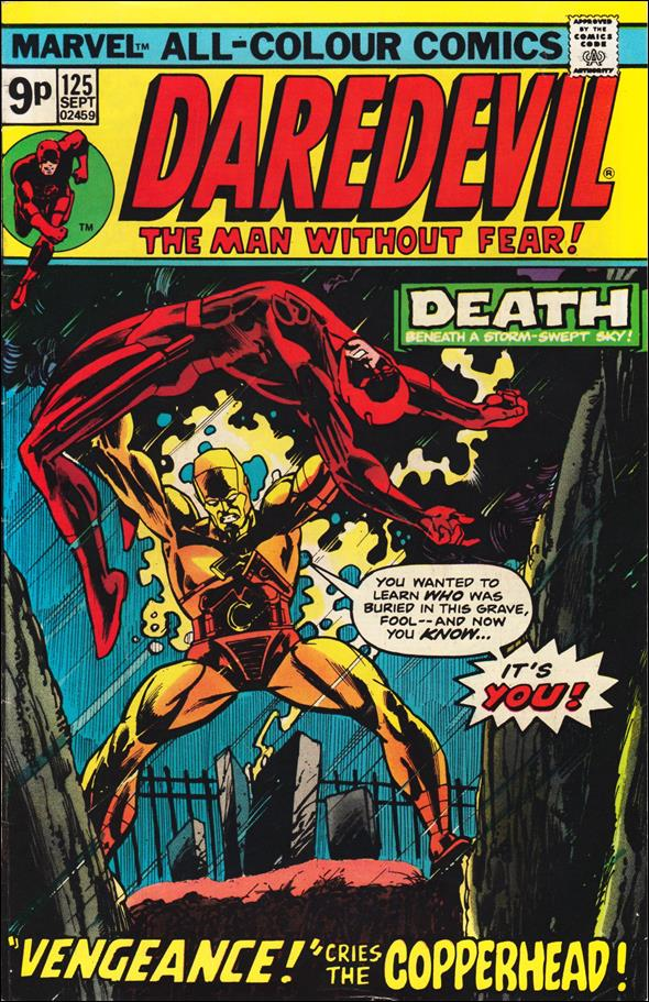Daredevil (1964) 125-B by Marvel