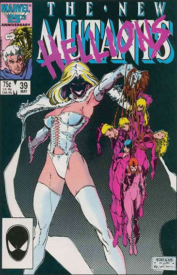 New Mutants (1983) 39-A by Marvel