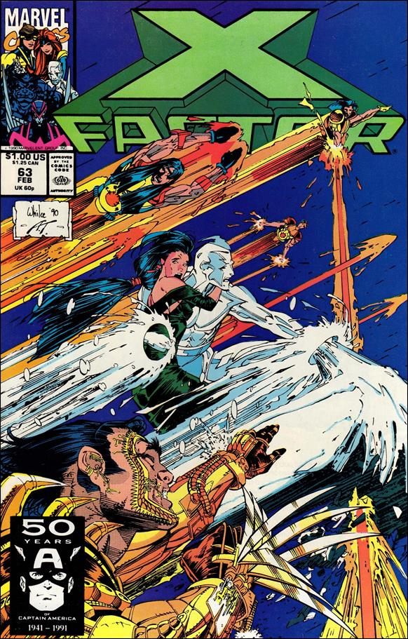 X-Factor (1986) 63-A by Marvel