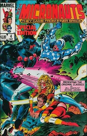 Micronauts: Special Edition 4-A