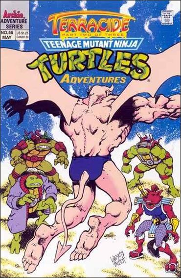 Teenage Mutant Ninja Turtles Adventures (1989) 56-A by Archie