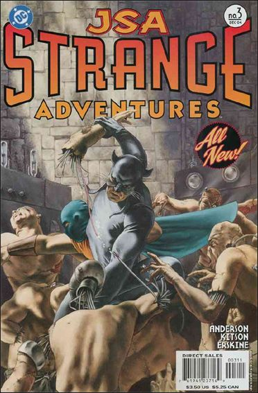 JSA Strange Adventures 3-A by DC