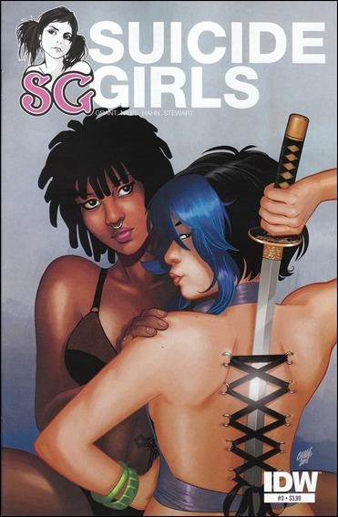 Suicide Girls 3-A by IDW