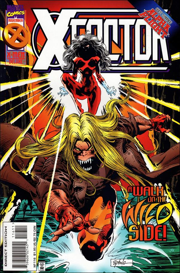 X-Factor (1986) 116-A by Marvel