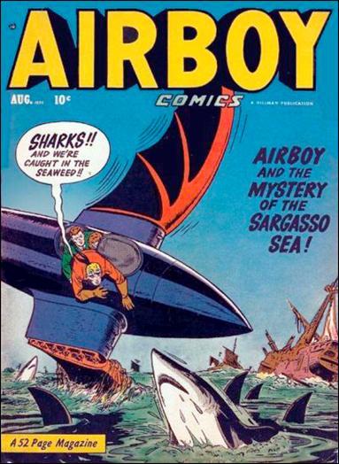 Airboy Comics (1950) 7-A by Hillman