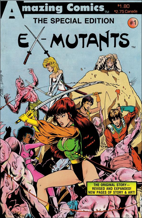 Ex-Mutants: Special Edition  1-A by Amazing Comics