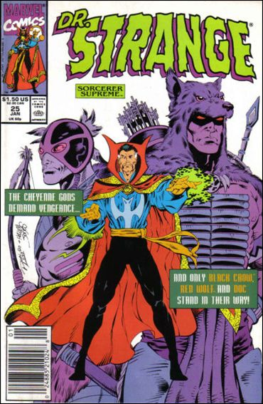 Doctor Strange, Sorcerer Supreme 25-A by Marvel
