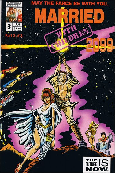Married... with Children: 2099 3-A by Now Comics