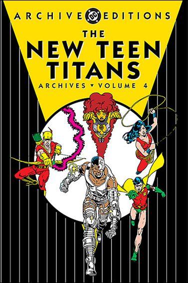 New Teen Titans Archives 4-A by DC