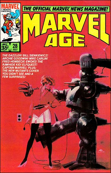 Marvel Age 28-A by Marvel