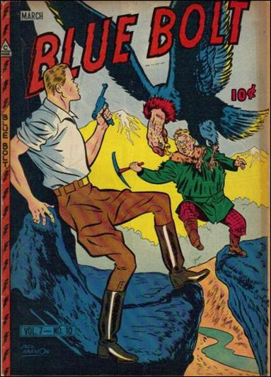 Blue Bolt (1946) 10-A by Novelty Press