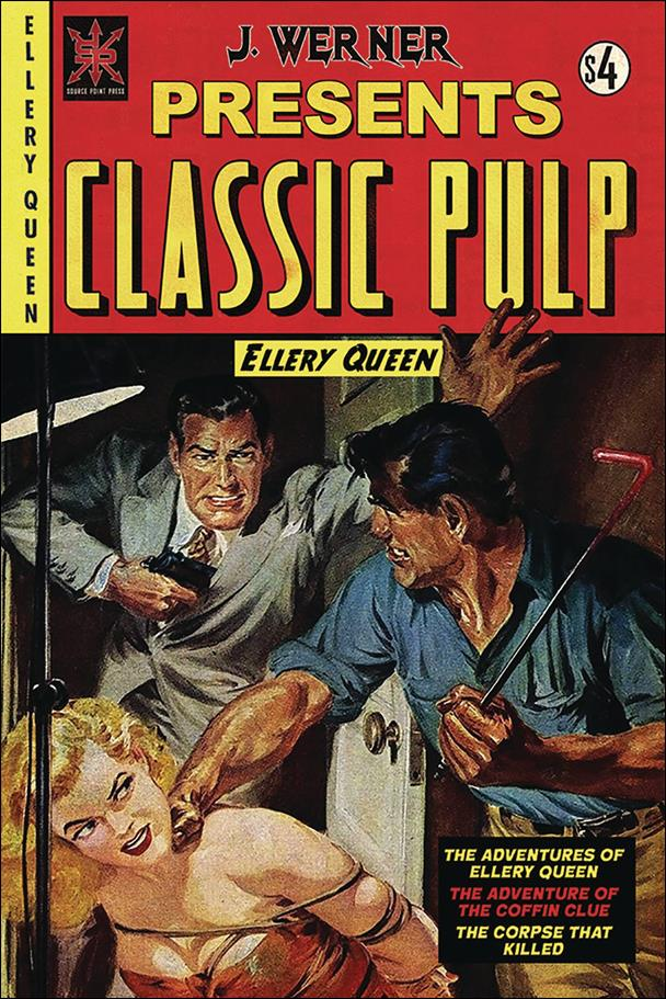 Classic Pulp: Ellery Queen nn-A by Source Point Press