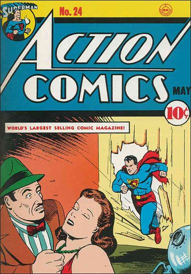 Action Comics (1938) 24-A by DC