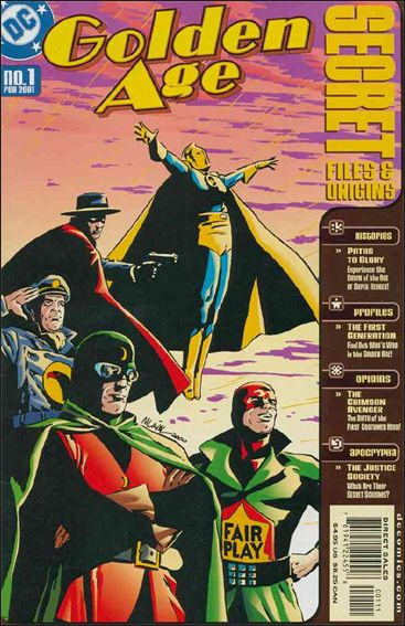 Golden Age: Secret Files and Origins 1-A by DC