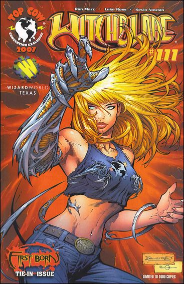 Witchblade 111-B by Top Cow