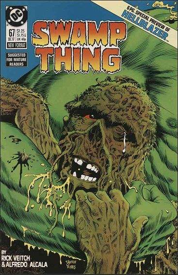 Swamp Thing (1986) 67-A by Vertigo