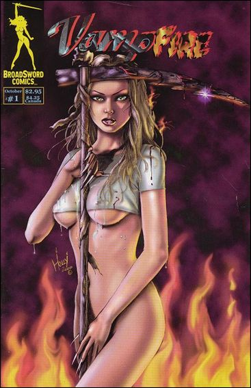 VampFire (2000) 1-B by BroadSword Comics