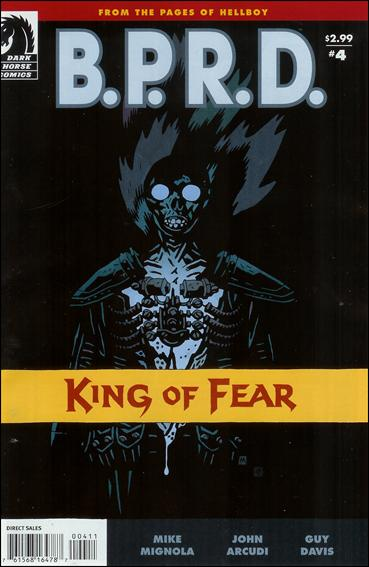 B.P.R.D.: King of Fear 4-A by Dark Horse