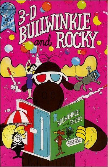 Bullwinkle & Rocky in 3D 1-A by Blackthorne