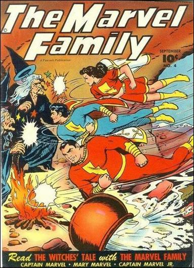 Marvel Family 4-A by Fawcett