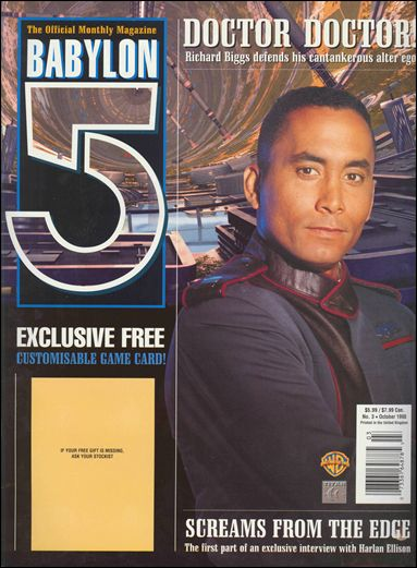 Official Babylon 5 Magazine (1998) 3-A by Titan Magazines