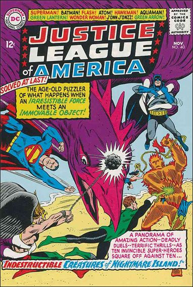 Justice League of America (1960) 40-A by DC