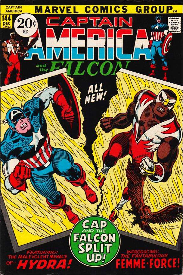 Captain America (1968) 144-A by Marvel