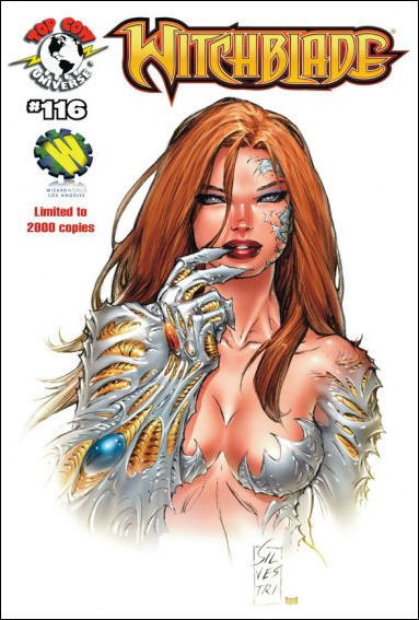 Witchblade 116-B by Top Cow